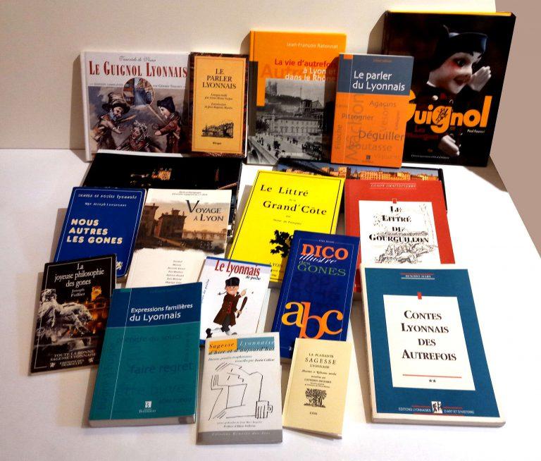 Assemblage de sources bibliographiques sur la culture lyonnaise et le parler lyonnais