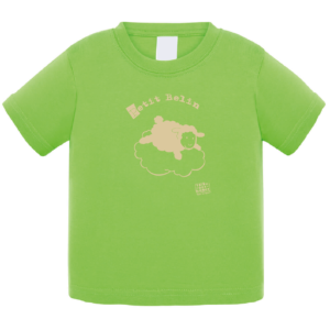 Tshirt logo petit belin couleur vert