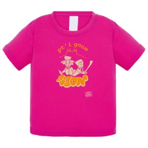 """Tshirt bébé """"petit gone"""" couleur fushia"""