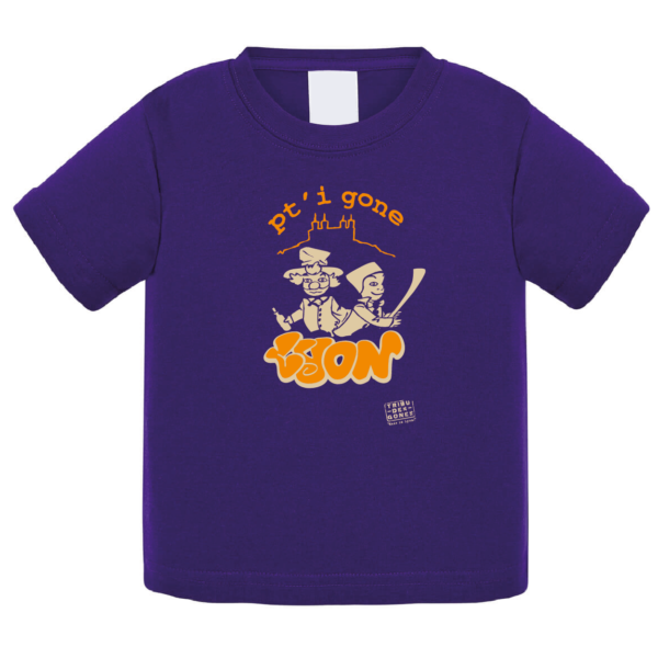 """Tshirt bébé """"petit gone"""" couleur violet"""