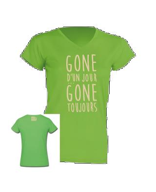 T-shirt enfant Gone d'un jour Gone toujours
