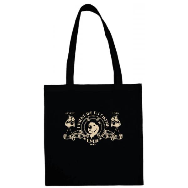 """Tote bag """"l'aventure du cinéma"""" couleur noir"""