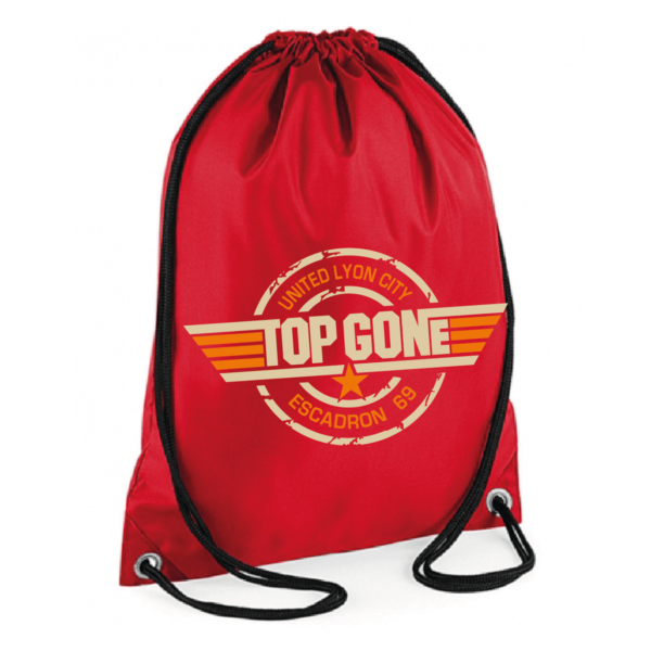 "Sac sport ""Top Gun"" couleur rouge"