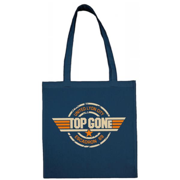 """Tote bag """"Top Gun"""" couleur bleu"""