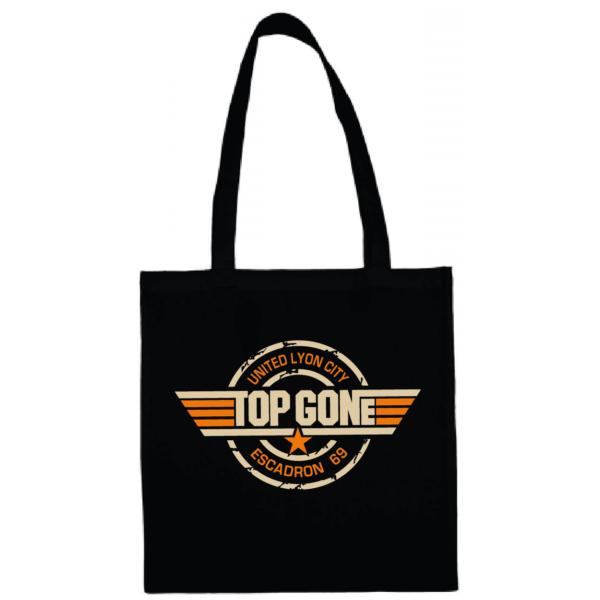 """Tote bag """"Top Gun"""" couleur noir"""