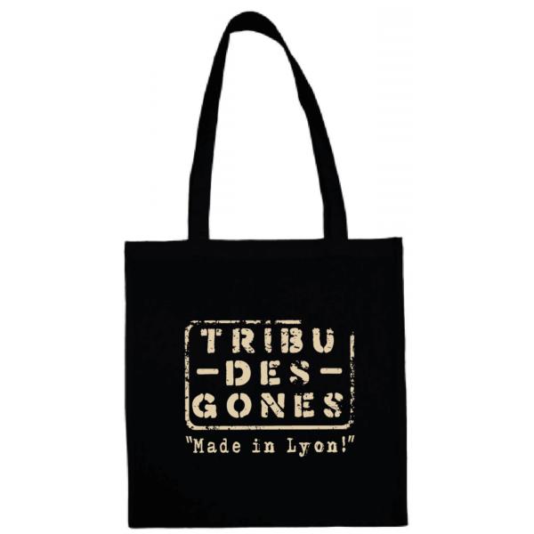 "Tote bag ""Made in Lyon "" couleur noir"