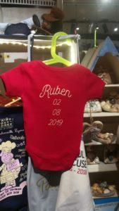 Body de naissance Ruben