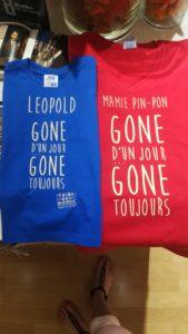 T-shirt Mamie Pin-Pon et son petit fils Leopold