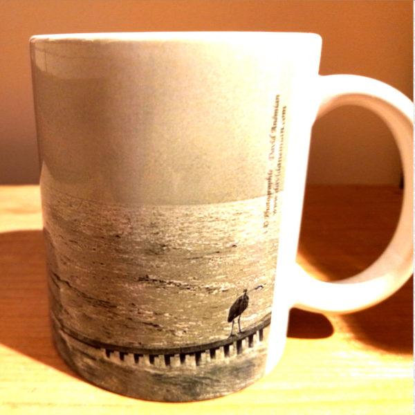 Illustration du mug Bellecour collaboration Argaya, vue gauche
