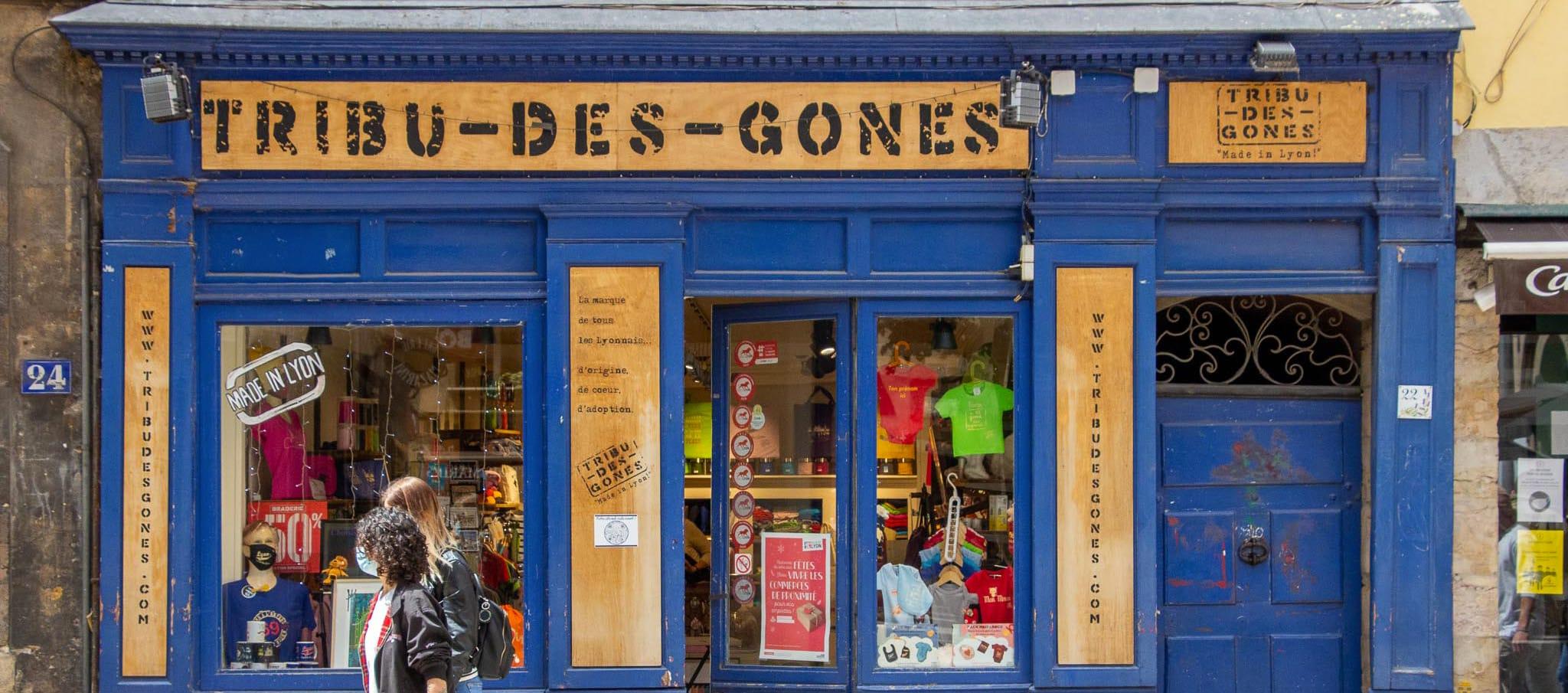 boutique tribu des gones souvenirs de lyon culture lyonnaise vieux lyon