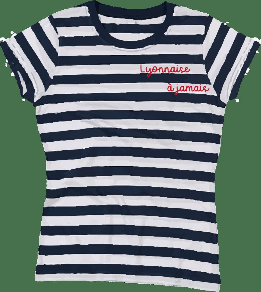 T-shirt marinière adulte